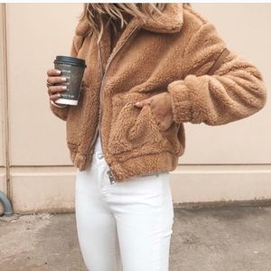 Urban Outfitters Teddy Coat